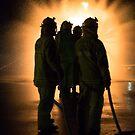 CFA fire brigade band of brothers by Darren Clarke