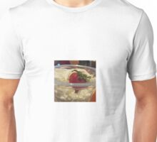 Whipped Cream and Strawberry Unisex T-Shirt