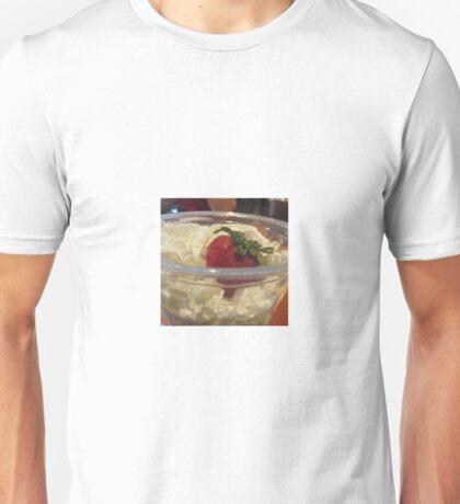 Whipped Cream and Strawberry Unisex T-Shirt