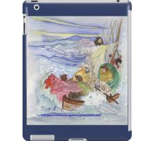 But the righteous will live by his faith. iPad Case/Skin