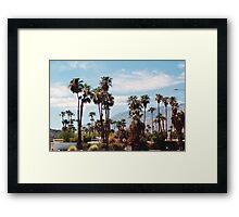 Lush (Palm Springs) Framed Print