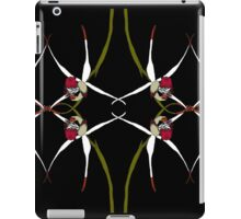 Exotic Native Orchid Mirror Design iPad Case/Skin