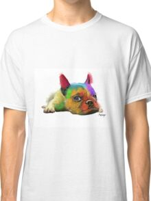 Colorful Bulldog Classic T-Shirt