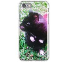 Chomik the Black Bear Hamster iPhone Case/Skin