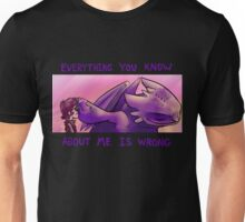 Everything You Know About Me Is Wrong Unisex T-Shirt