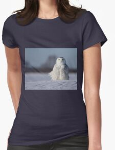 Saint Snowy Womens Fitted T-Shirt
