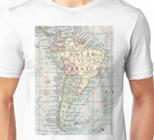 Vintage Map of South America (1901) Unisex T-Shirt