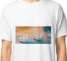 Jeffrey's Sailboats Classic T-Shirt