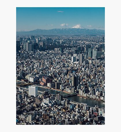 The city of Tokyo Photographic Print