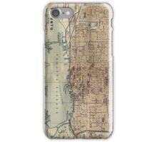 Vintage Map of Toronto (1894) iPhone Case/Skin