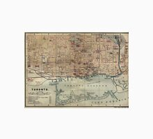 Vintage Map of Toronto (1894) Unisex T-Shirt