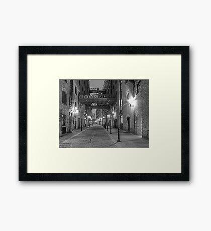 Edwardian London - HDR Framed Print