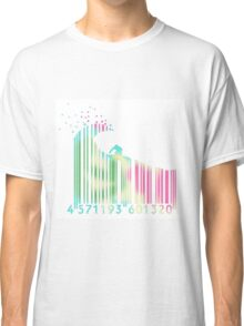 Surf barcode Classic T-Shirt