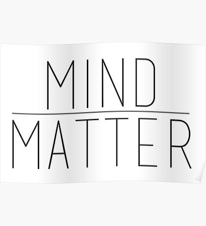Mind Over Matter Poster