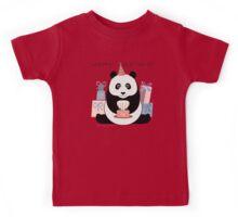 PANDA HAPPY BIRTHDAY Kids Tee