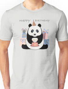 PANDA HAPPY BIRTHDAY Unisex T-Shirt