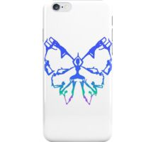 Inspirational Yoga Poses Butterfly New Beginnings iPhone Case/Skin