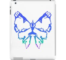 Inspirational Yoga Poses Butterfly New Beginnings iPad Case/Skin
