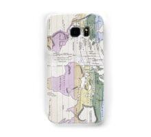 Vintage World Climate Map (1823) Samsung Galaxy Case/Skin