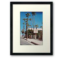 Aloha Hotel No.2 (Palm Springs) Framed Print