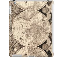 Vintage Map of The World (1630) iPad Case/Skin