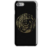 Gold Disc iPhone Case/Skin
