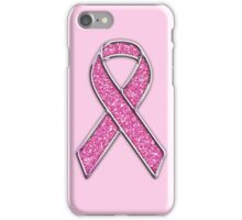 Pink Ribbon Awareness iPhone Case/Skin