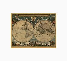 Vintage Map of The World (1664) Unisex T-Shirt