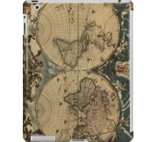 Vintage Map of The World (1664) iPad Case/Skin