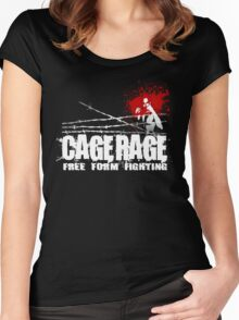 cage rage bring it on Women's Fitted Scoop T-Shirt