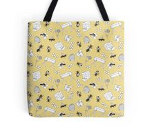 Beekeeper Print in Buttercup Yellow Tote Bag