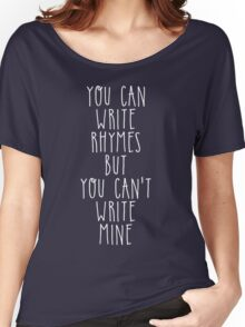 My name is Philip, i am a poet Women's Relaxed Fit T-Shirt