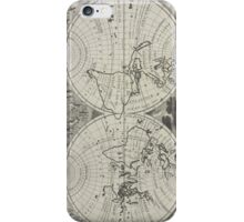 Vintage Map of The World (1700) 2 iPhone Case/Skin