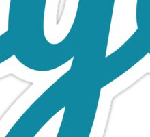 NYC - BLUE Sticker