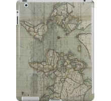 Vintage Map of The World (1702) 2 iPad Case/Skin