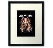 Oh No Ani - Dead Jar Jar Framed Print