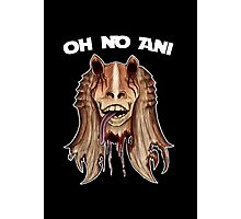 Oh No Ani - Dead Jar Jar Photographic Print