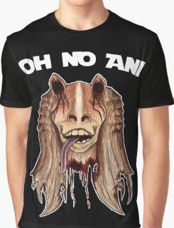 Oh No Ani - Dead Jar Jar Graphic T-Shirt