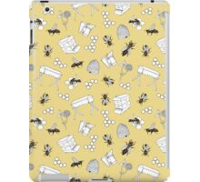 Beekeeper Print in Buttercup Yellow iPad Case/Skin