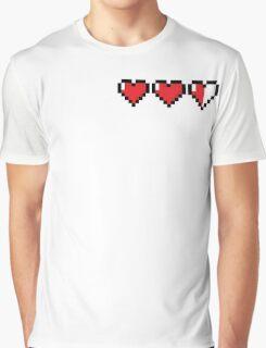 8Bit Heart - Legend of Zelda Graphic T-Shirt