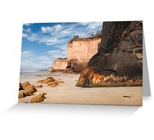 Three Sisters,Anglesea,Great Ocean Road. Greeting Card