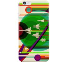 The Grand Tour - NASA/JPL Travel Poster iPhone Case/Skin