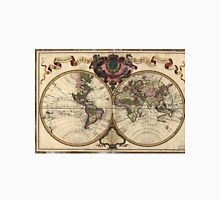 Vintage Map of The World (1720) Unisex T-Shirt