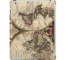 Vintage Map of The World (1720) iPad Case/Skin