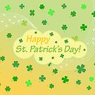Happy St. Patricks Day 1 by Susan S. Kline