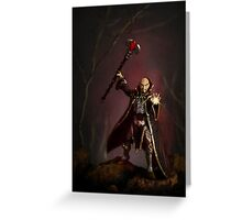 """"""" The Sorcerer """" Greeting Card"""