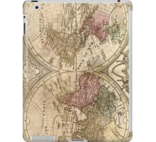 Vintage Map of The World (1775) 3 iPad Case/Skin