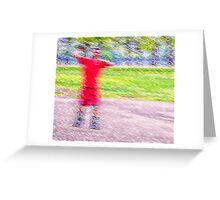 Sandlot Football Greeting Card