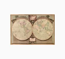 Vintage Map of The World (1808) Unisex T-Shirt