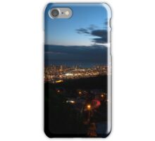 Honolulu at night iPhone Case/Skin